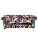 Beliani Sofá tapizado Violeta Chester