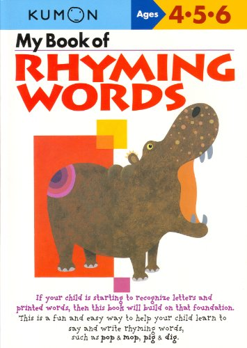 My Book of Rhyming Words por Publishing Kumon