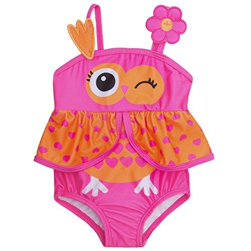 Babys/Kleinkinder Neuheit Tier Schwimmen Kostüm - 3 Monate bis 6 Jahre (9-12 Monate, Eule)