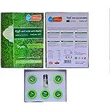 KHADI MART'S ANTI-ACNE ANTI-PIMPLE FACIAL KIT WITH TEA TREE AND BASIL (120 GMS SMALL)
