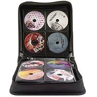Exponent World - Estuche para CD y DVD (para 240 discos), color negro