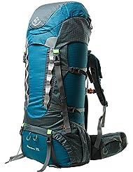 Sports d'extérieur d'escalade Sac à dos de voyage Alpinisme Randonnée Imperméable Grand Mountaineer Sac à dos de randonnée avec housse de pluie