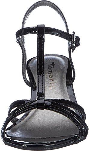 Tamaris 28329, Salomés femme Noir (Black Patent 018)