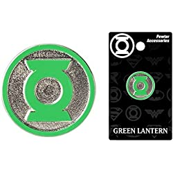 DC Comics Green Lantern Logo Colored Pewter Lapel Pin by DC Comics