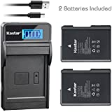 Kastar Camera Batteries (Pack Of 2) With SLIM LCD Charger For Nikon EN-EL14