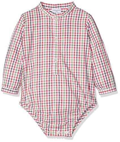 Neck & Neck 17I07501.81, Camisa para Bebés, Gris (Gris Marengo), 74 (Tamaño del Fabricante:12M)