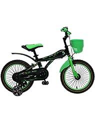 Bicicleta infantil 16pulgadas Niños Rueda de bicicleta parte (BMX VERDE Stem Bike