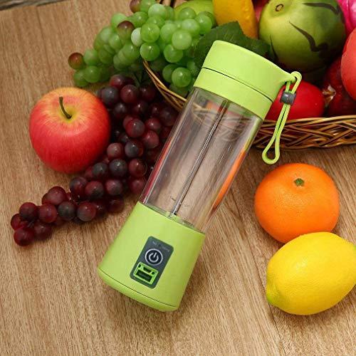Buyerzone Rechargeable USB Mini Juicer Bottle Blender for Making Juice, Shake - (Assorted Color)