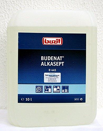 Buzil D445 Budenat Alkasept Desinfektionsreiniger Lebensmittelbereich 10 Liter