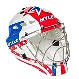 Mylec Ultra Pro II Torwart Maske, unisex, rot/blau, Large