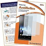2 x mumbi Displayschutzfolie Sony Xperia E / Sony Xperia E Dual-SIM Schutzfolie AntiReflex matt