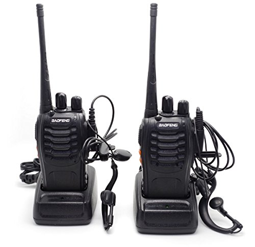 Lospu HY® 2 Pcs BaoFeng BF-888S 16CH FM UHF 400-470MHz Talkie Walkie