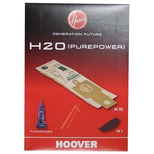 Hoover Genuine H20 Purepower - Set de bolsas y 2 filtros para aspiradora vertical