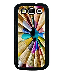 Vizagbeats Color Pencils Cirular Shape Back Case Cover For Samsung Galaxy S3