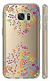 Hülle fürSamsung Galaxy S8 Softcase Cover Backkover TPU Schutzhülle Slim Case (2286 Notenschlüssel Bunt)