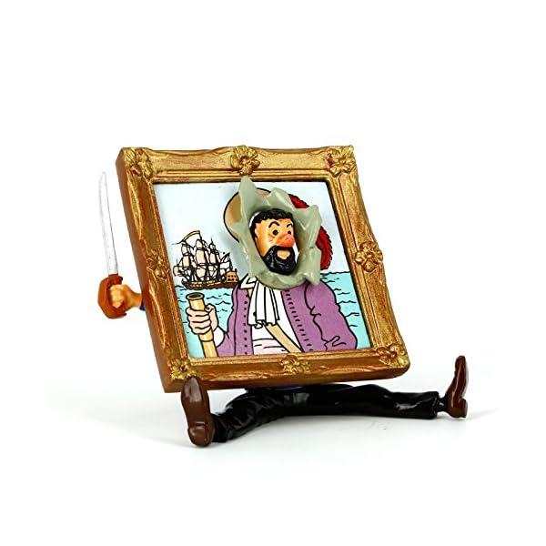 PIXI Figura Moulinsart: Tintín Capitán Haddock Trío - 46215 (2005) 3