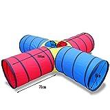 Play Tents NAUY- Niño Adulto Túnel de sol Tubo de arrastre Sentido de los juguetes de entrenamiento Diversión Juegos Infantil Equipo deportivo (Color : #1)