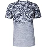 Local Palm Fade Printed T-Shirt for Men