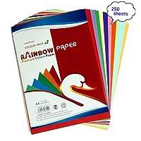 ورق طباعة A4 ملون بالوان الرينبو