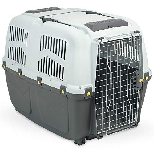 MPS SKUDO 7 IATA Trasportino per Cani Conforme agli Standard per Il Trasporto Aereo 105x73x76h cm