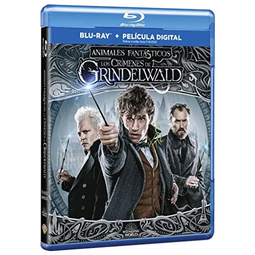 Animales Fantásticos: Los Crímenes De Grindelwald Blu-Ray [Blu-ray] 4