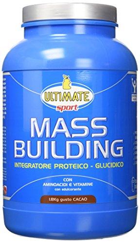 Ultimate Italia Mass B Building Gainer, Cacao - 1800 gr - 514LBOZN1iL