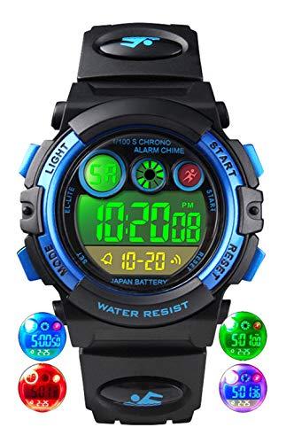 Relojes de Pulsera para niños, Reloj Digital