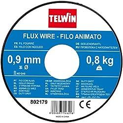 Telwin S.P.A. 802977Bobine Fil Fourré, 0,9 mm - 0,8 Kg, Gris
