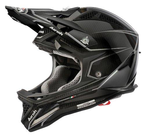 Airoh BMX Casco Fighters, color negro