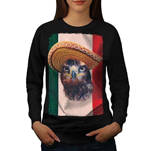 Casual Sombrero (Adler Vogel Sombrero Frau L Sweatshirt | Wellcoda)