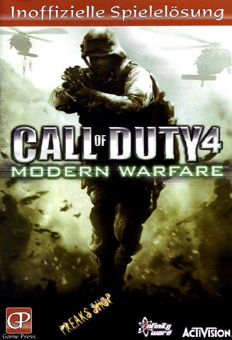 Call of Duty 4 - Modern Warfare (Lösungsheft)