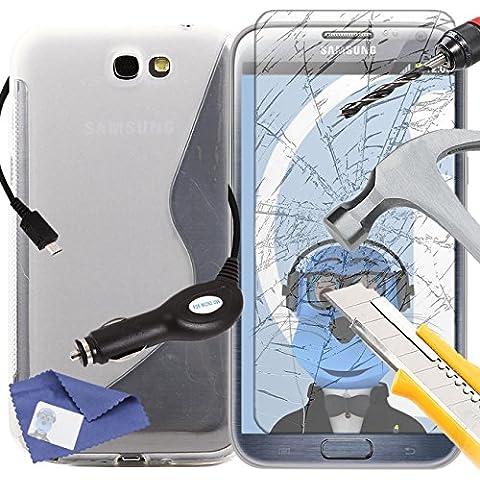 iTALKonline Samsung N7100 Galaxy Note 2 SCH-I605 SCH-R950 SPH-L900 Chiaro