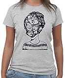 T-Shirt SPLIT PERSONALITÀ MULTIPLE - by New Indastria - Donna-S-Grigia