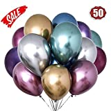 LAKIND Ballon Metallique 50-Pack...