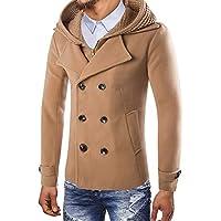 FRAUIT Winterjacke Herren Männer Junge Wintermantel Top Outwear Bluse Parka Herbst Winter Mode Wunderschön Design Warm Atmungsaktiv Bequem Arbeitskleidung Coat M-3XL