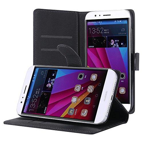ECENCE Handyhülle Schutzhülle Case Cover kompatibel für Huawei Ascend G7 Handytasche 14030102