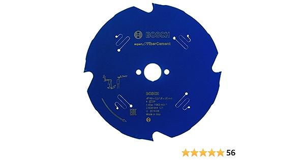 12 260864063 0 BOSCH Construct Wood circulaire lame de scie 160 x 20//16 x 2,6 mm