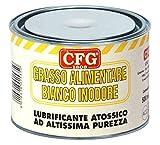 CFG – Grasa alimentaria especial, blanca, inodora, atóxica, 500 ml, lubrica y protege los mecanismos de las máquinas para el procesamiento de alimentos