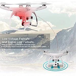 UPair-one-Drohne-mit-4K-Plus-Kamera-FPV-live-bertragung-RC-Quadcopter-with-IOS-APP-Control24-GHz-Fernbedienung-GPS-Auto-Return-Funktion-Anfnger-Quadcopter-Drohne-HD-Drohne