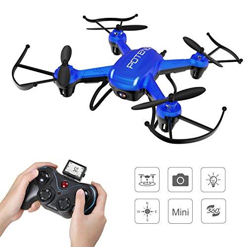 Potensic Hover Drone 186C con Cámara HD 2MP