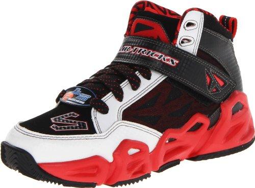 Skechers Hoopz 95775L Jungen Sneaker Weiß (Wbkr)