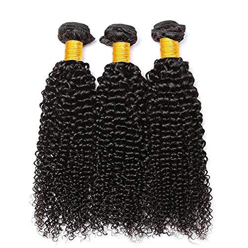 Brazilian Curly Hair 3 Bundles Unprocessed Remy Brazilian Virgin curly hair extensions Human Hair Bundles double weft high quality brasilianische echte haare (10 12 14) -