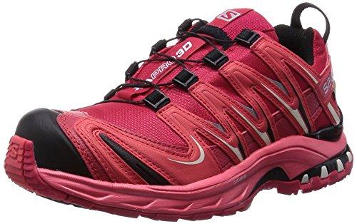 Salomon XA Pro 3D GTX, Chaussures de Trekking et RandonnÉe Femme - Rose - Pink (Lotus Pink/Papaya-B/Black), 40 2/3
