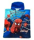 Marvel Avengers / Spiderman Poncho À Capuche Serviette De Plage Bain Piscine Serviette Garçons Pour Enfants Taille Unique - Ultimate Spiderman 110x50, One Size