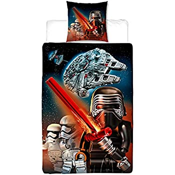 Biber Lego Kinder Wende Bettwäsche Star Wars Millennium 135 X 200