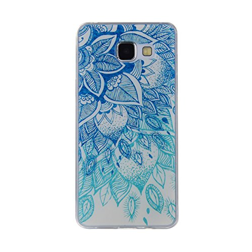 WYSTORE TPU Silicone Case for Samsung Galaxy A3 2016 Gel Rubber Cover Soft Flexible Shell Bumper Smooth Lightweight Skin Ultra Thin Shell Creative Design Sleeve Anti-Scratch Anti-Shock Cover Protectiv A7