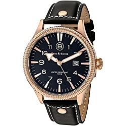 Ben & Sons-Herren-Armbanduhr-BS-10019-RG-01