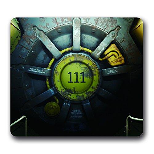 Gaming–Alfombrilla de ratón (Fallout 4, 10'x 9' de goma antideslizante Mouse Pad C-1372