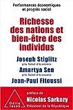 Richesse des nations et bien-être des individus - Performances économiques et progrès social