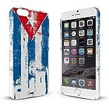 YOUNiiK Premium Case für Apple iPhone 6 - Kuba Paint Flag - Handyhülle Cover in einzigartiger Qualität, randlos bedruckt und extrem kratzfest